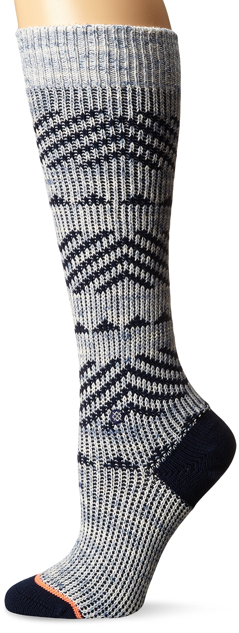 Stance Women's Del Valle Tall Boot Sock, Blue, Medium