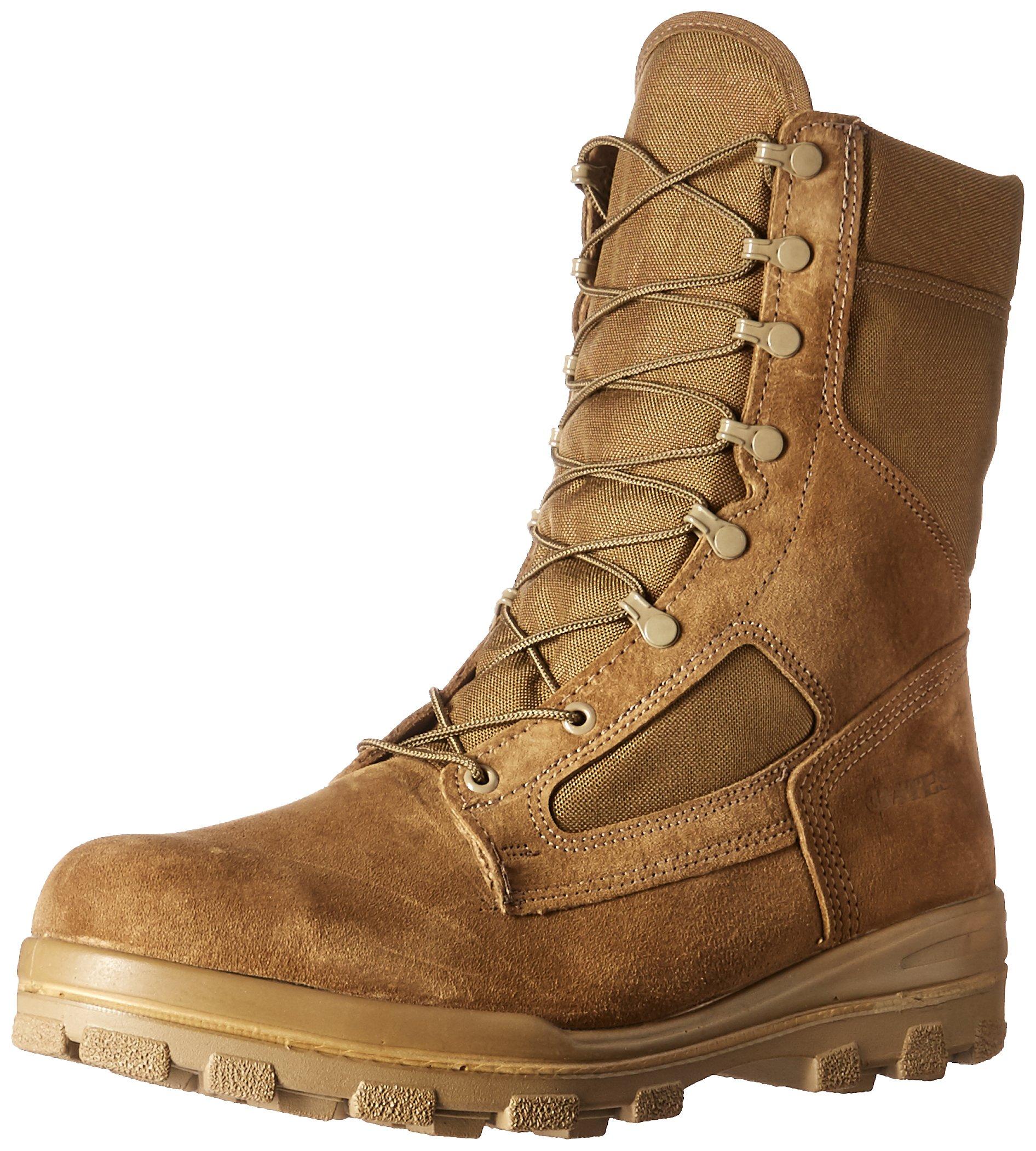 Bates Men's Durashocks Steel Toe Military & Tactical Boot, Olive Mojave, 14 M US by Bates