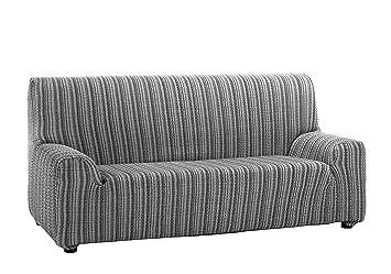 Martina Home Mejico - Funda de sofá elástica , Gris, 3 Plazas
