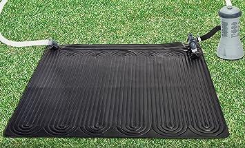 Intex Solar alfombrilla por encima del suelo piscina calentador de agua – negro | 28685e