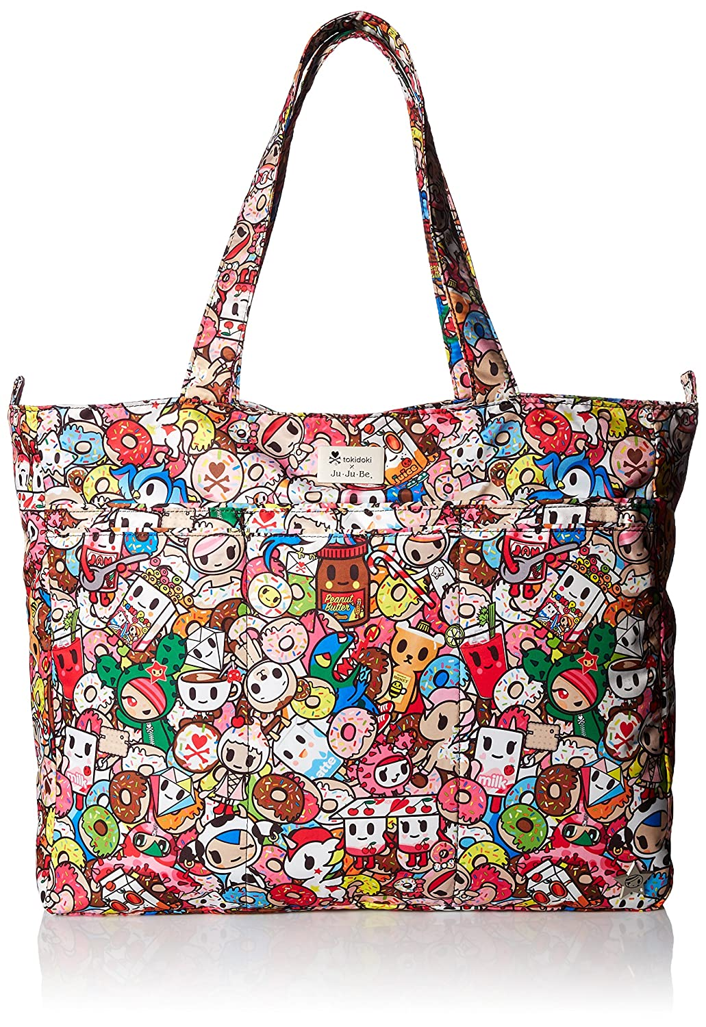 Ju-Ju-Be Super Be zippée Tote Sac à langer, Tokipops Ju Ju Be Europe 12FF02AT POP