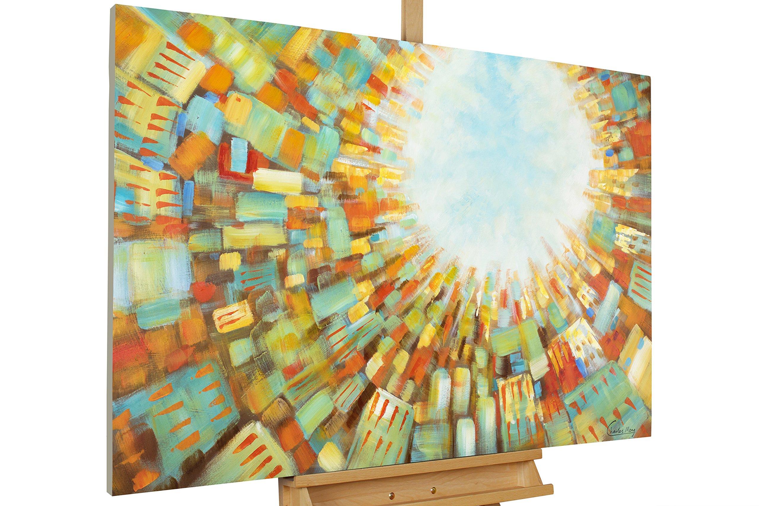 Gemalte Wandbilder Wohnzimmer ~ Gemalte bilder auf leinwand mit rahmen amazon