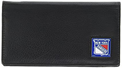 5907fe810223 Amazon.com : NHL Pittsburgh Penguins Deluxe Leather Checkbook Wallet ...