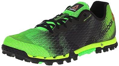 Reebok Men's All Terrain Super 2.0 Running Shoe, Solar Green/Solar Yellow/ Black