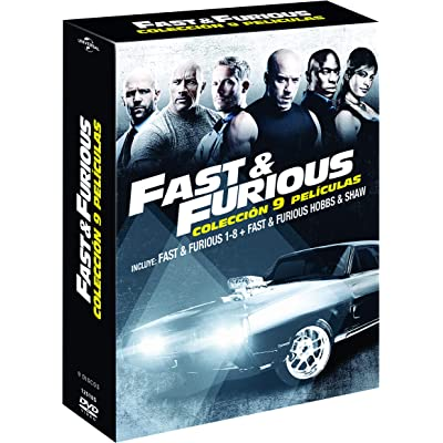 Pack: Fast & Furious 1-8 + Hobbs & Shaw [DVD]