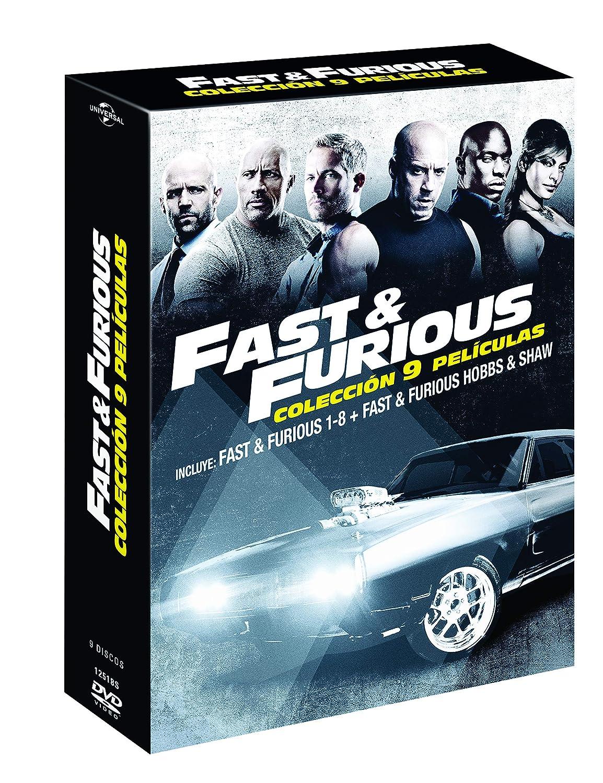 Pack: Fast & Furious 1-8 + Hobbs & Shaw [DVD]: Amazon.es: Dwayne ...