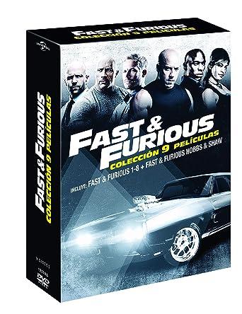 Pack: Fast & Furious 1-8 + Hobbs & Shaw [DVD]: Amazon.es: Dwayne Johnson, Jason Statham, Vin Diesel, Paul Walker, David Leitch, James Wan, Justin Lin, Dwayne Johnson, Jason Statham, Chris Morgan Productions,