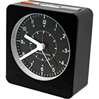 Marathon CL030053BK Analog Desk Clock