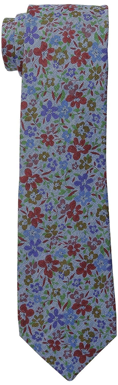 Ben Sherman Men's Londrina Floral Skinny Tie Red One Size Randa Neckwear SH49110011