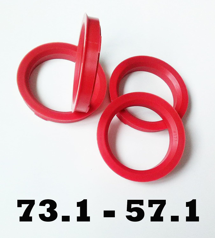 72.0-54.0 Anillos Espita Conjunto de 4 para rueda centrada en el cubo de la Rueda de Aleación Espaciador Regalo