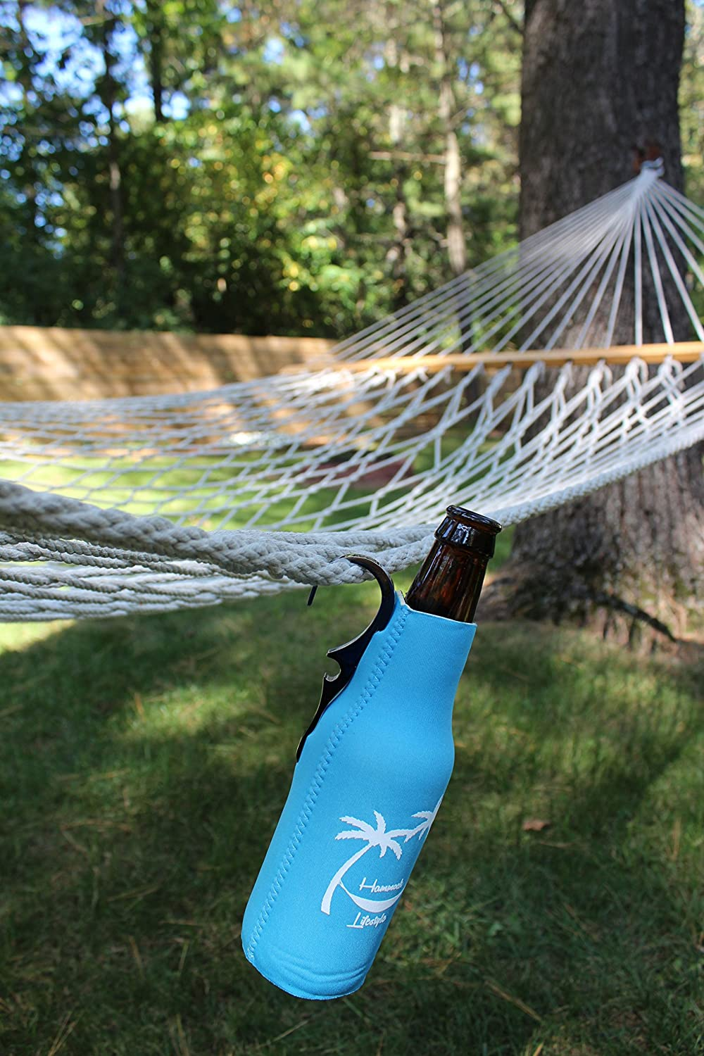 CoozieClaw Unique Bottle Cooler with Built in Hook and Bottle Opener Fun Gift #1 Hanging Bottle Holder Easily Hang Your Cold Beer Bottle Sleeve Anywhere Hammock Lifestyle USA 1, Bachelorette