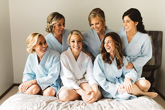 Amazon.com: Wedding Gift - Bridesmaid Robes - Personalized ...