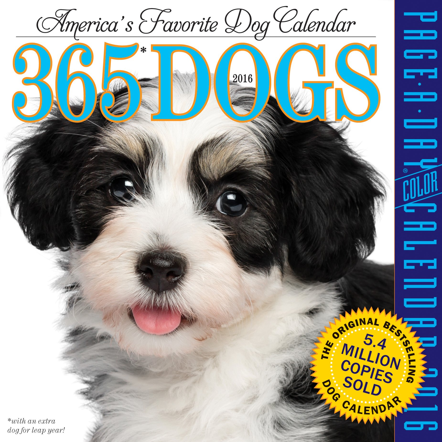 365 Dogs Color Page A Day Calendar 2016 Workman Publishing