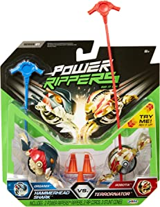 Power Rippers 2 Pack Series #1 - Hammerhead Shark Vs. Terrornator
