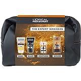 L'Oreal Men Expert The Expert Washbag 4- Piece Gift Set