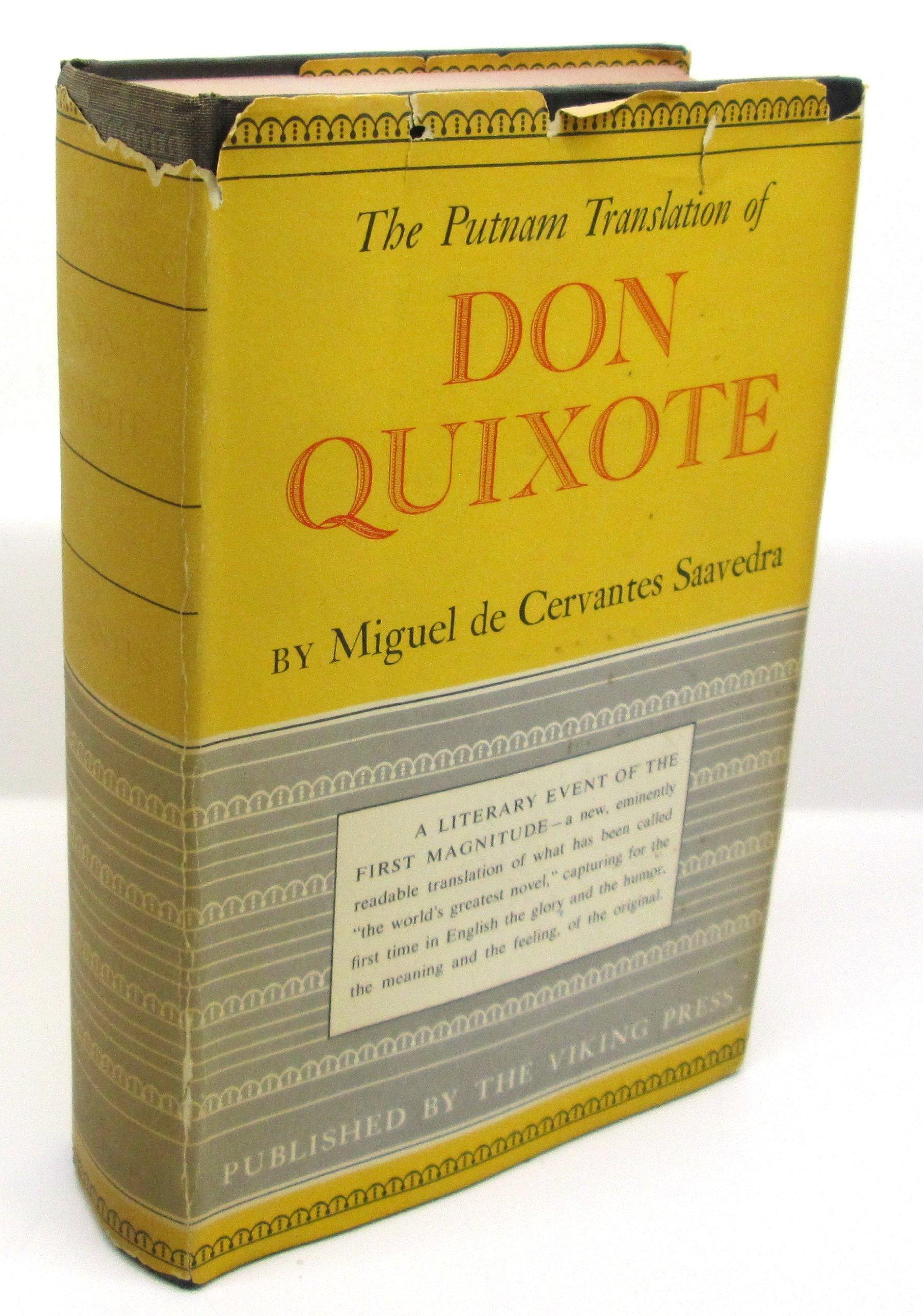 Don Quixote De La Mancha The Putnam Translation Complete In Two
