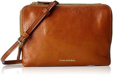 Royal RepubliQ Catamaran Eve Bag, femme Sacs portés épaule, (Cognac) 4.5x14x20 cm (B x H x T)