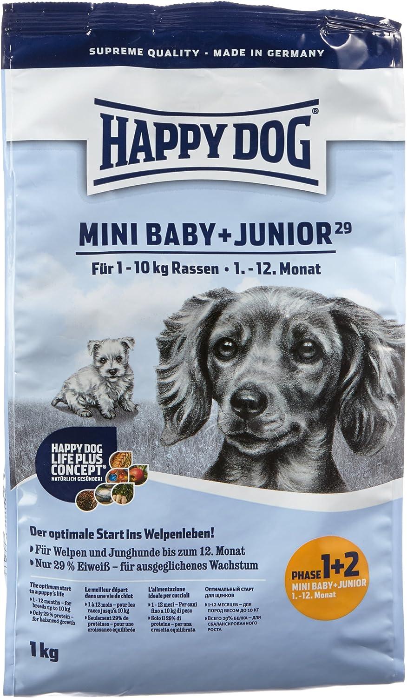 Happy Dog Mini Baby & Junior 29 Comida para Perros - 1000 gr