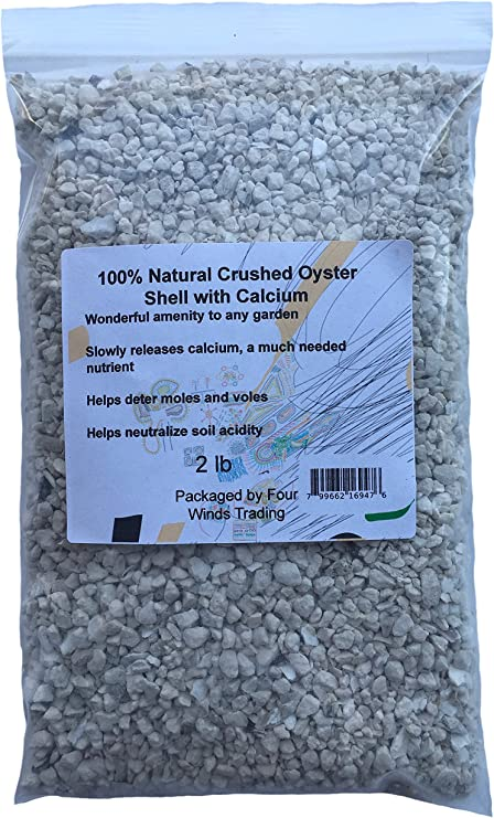 Amazon Com Natural Crushed Oyster Shell With Calcium 2 Lb