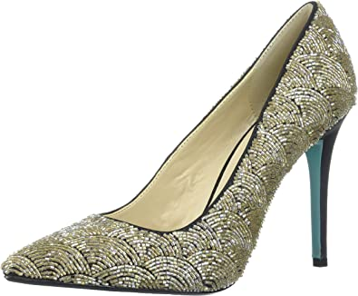 Blue by Betsey Johnson Womens Sb-Clair Pump