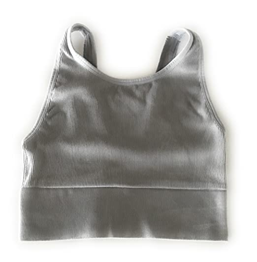 b213593bd4ed82 Victoria Secret Sport - Sport Bra Crop Top (Gray) at Amazon Women's ...