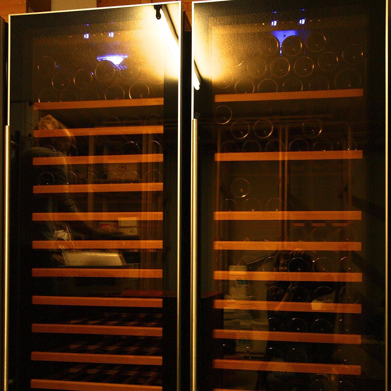SWISSCAVE 2 Zonen Weinklimaschrank f 210 Fl Inkl Lieferung