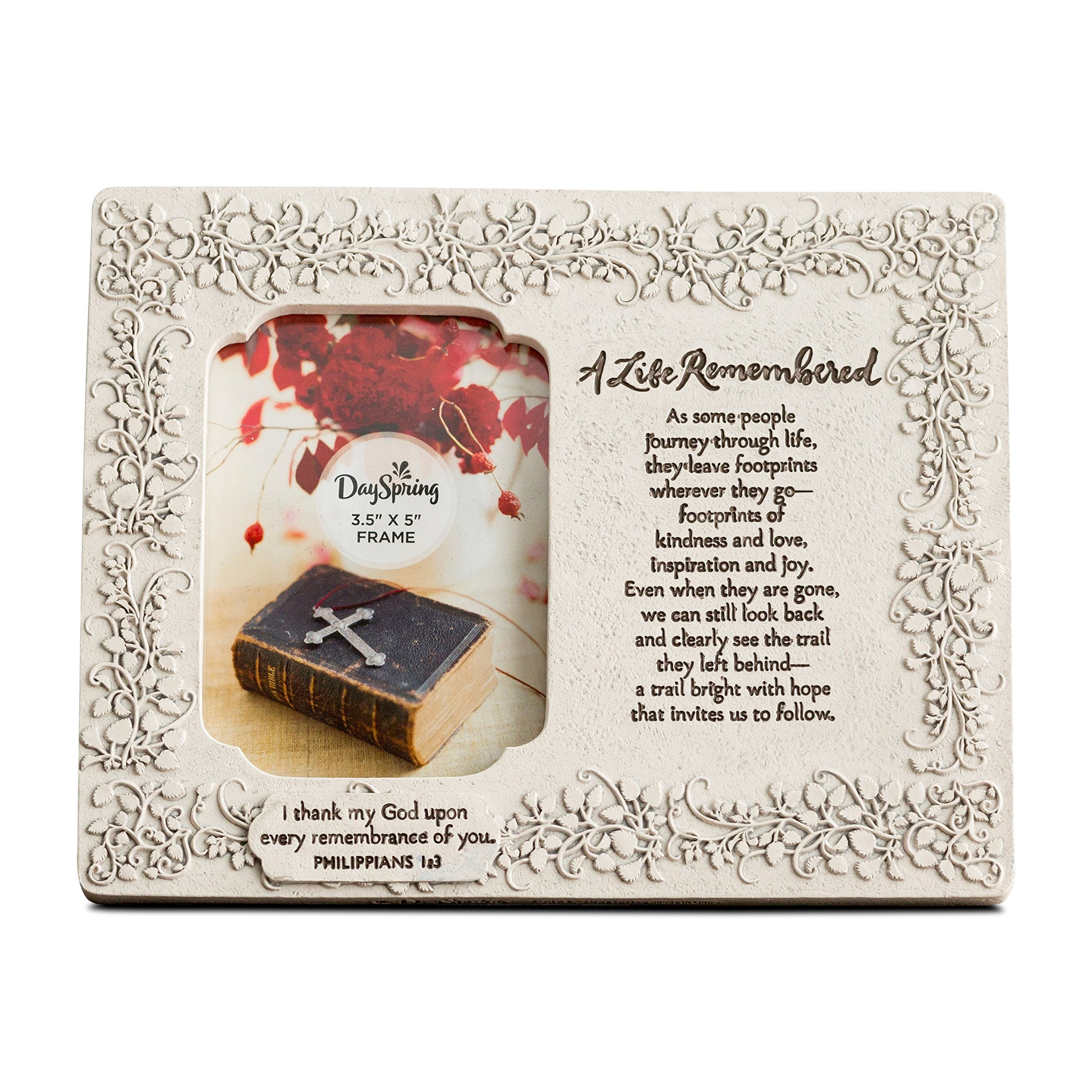 Dayspring A Life Remembered - Sympathy Photo Frame