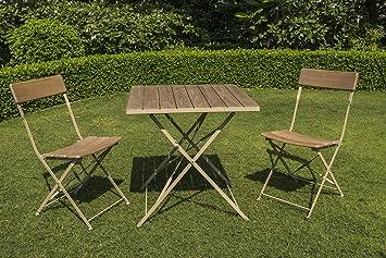 Chalet et jardin 3760233233732 Salon DE Jardin pour Bistro en ...
