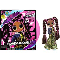 L.O.L. Surprise! O.M.G. Remix Honeylicious Fashion Doll– 25 Surprises with Music