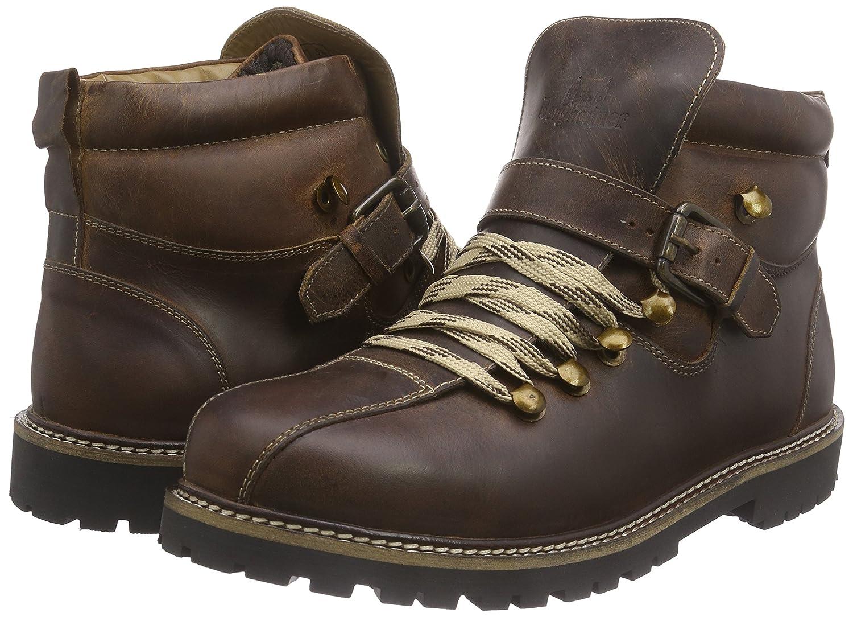 Heiligenblut, Herren Chukka Boots, Braun (Brown), 40 EUBergheimer Trachtenschuhe