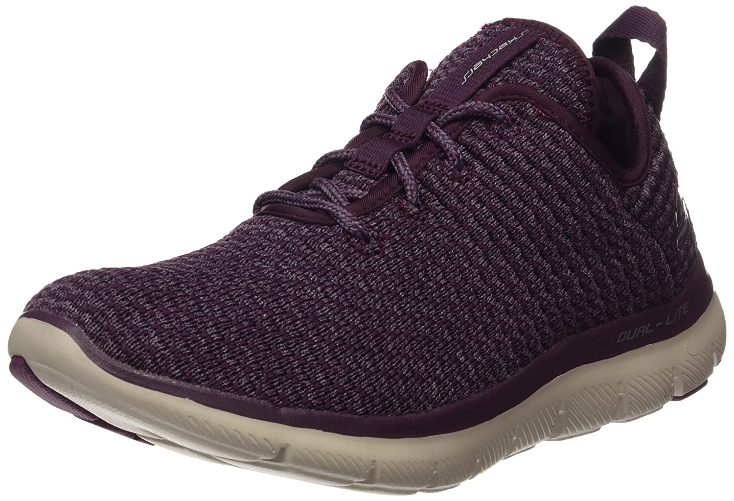 Skechers Sport Women's Flex Appeal 2.0 Bold Move Fashion Sneaker B01N24O3LK 11 B(M) US|Plum