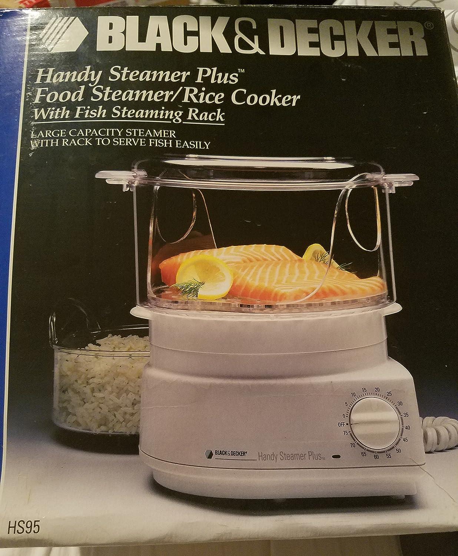 Black & Decker Handy Steamer Plus HS95