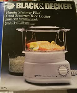 Black & Decker Handy Steamer Plus HS95