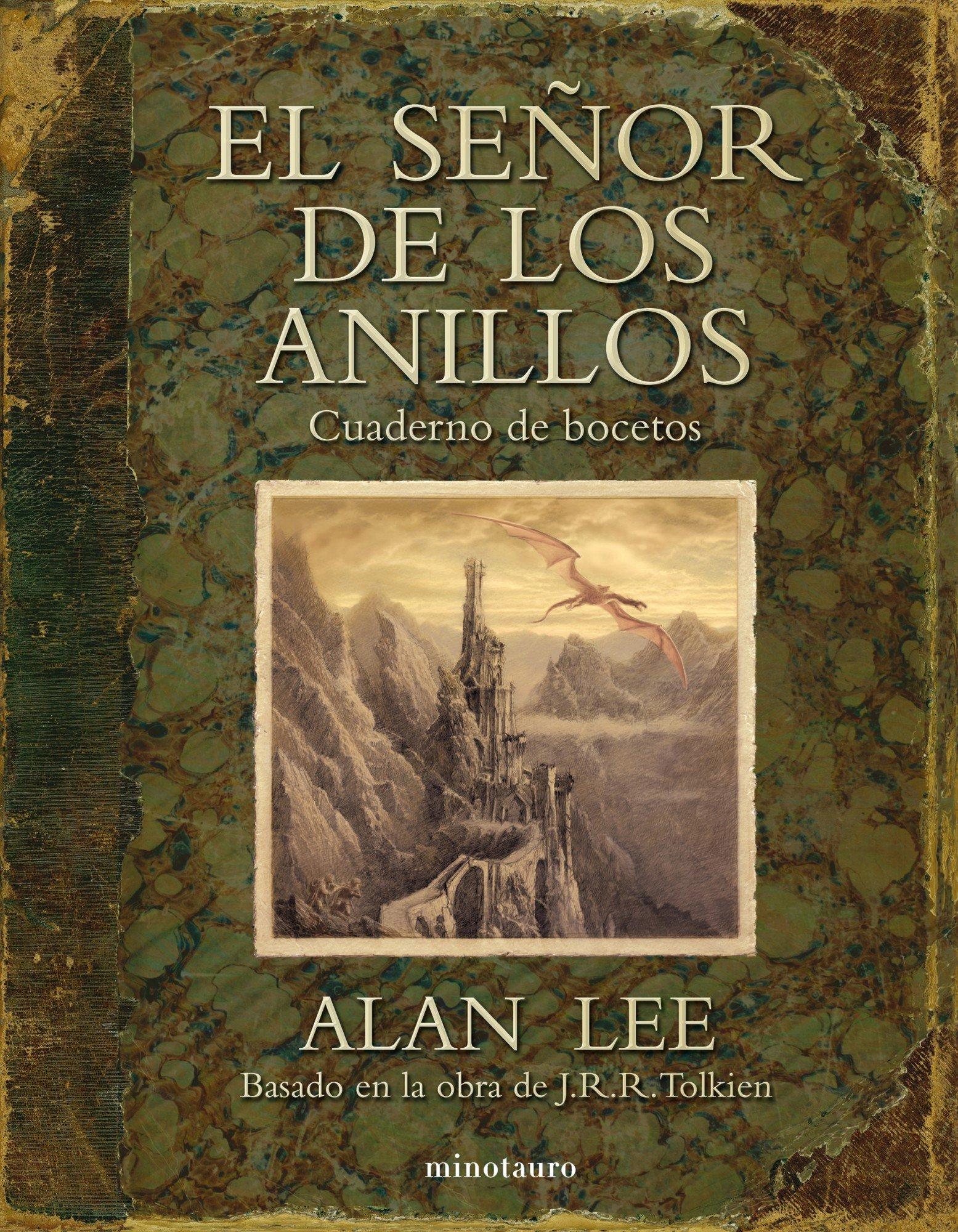 El Señor de los Anillos. Cuaderno de bocetos Biblioteca J. R. R. Tolkien: Amazon.es: Lee, Alan, Mata Álvarez-Santullano, Manuel: Libros
