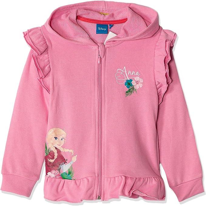 kids Girls Hooded Jumper Jacket Cardigan Sweat Tops,FROZEN Disney 4-5-6-7-8YEARS