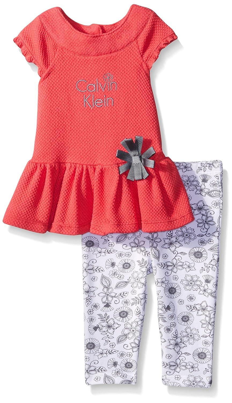 高い品質 Calvin Kleinベビー女の子ポップコーンニットチュニックとプリントレギンス Months 0 - - 3 0 Months マルチカラー B016V57G3Q, ネットコスメ:c952b6b7 --- a0267596.xsph.ru