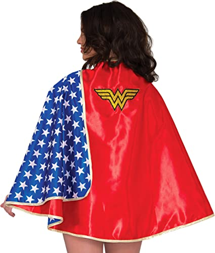 Wonder Woman Super Hero Inspired Flared Maxi Dress