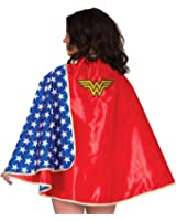 Rubie's Women's DC Comics Wonder Woman Deluxe 30-Inch Cape