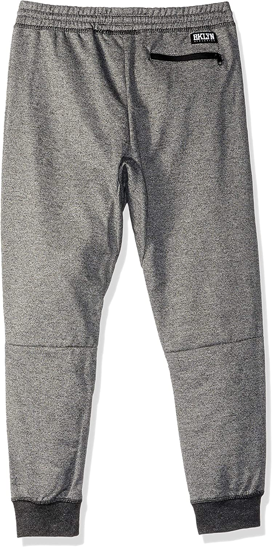 Olive Camo 7 Kids Boys Medium BROOKLYN ATHLETICS Big Fleece Jogger Pants Active Zipper Pocket Sweatpants