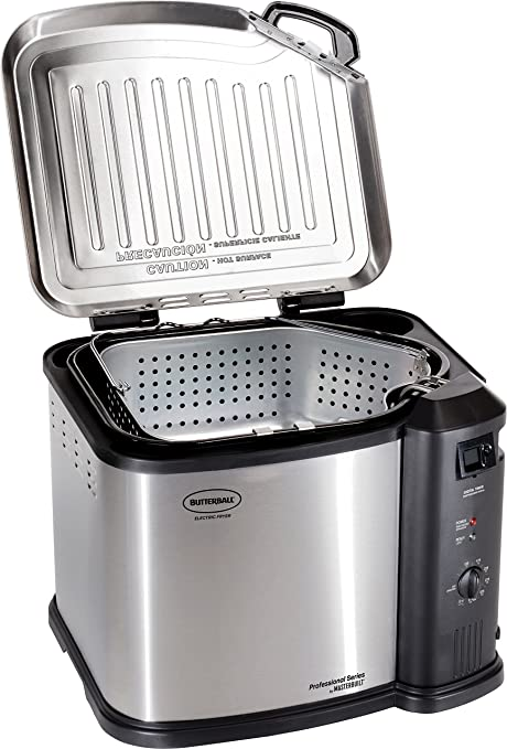 Amazon.com: Masterbuilt Butterball XXL 1650W Digital Electric 22 lb Turkey Fryer, Cinnamon: Kitchen & Dining