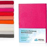 Etérea Jersey Spannbettlaken - Serie Comfort - 100% Baumwolle Spannbetttuch Farbe,