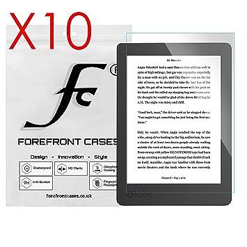 Forefront Cases® 10 x Protector De Pantalla para Kobo Aura Edition ...
