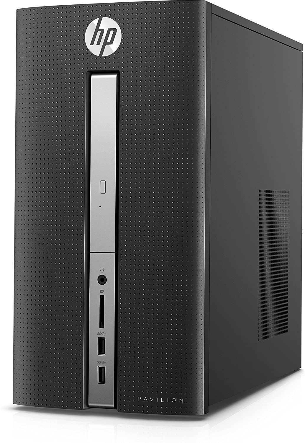 e7963df1a08ec6 Amazon.com  HP Pavilion 570-033w Desktop PC – Intel Core i7-7700, 3.6GHz,  16GB Ram, 2TB Hard Drive, Windows 10 with Keyboard and Mouse included ...