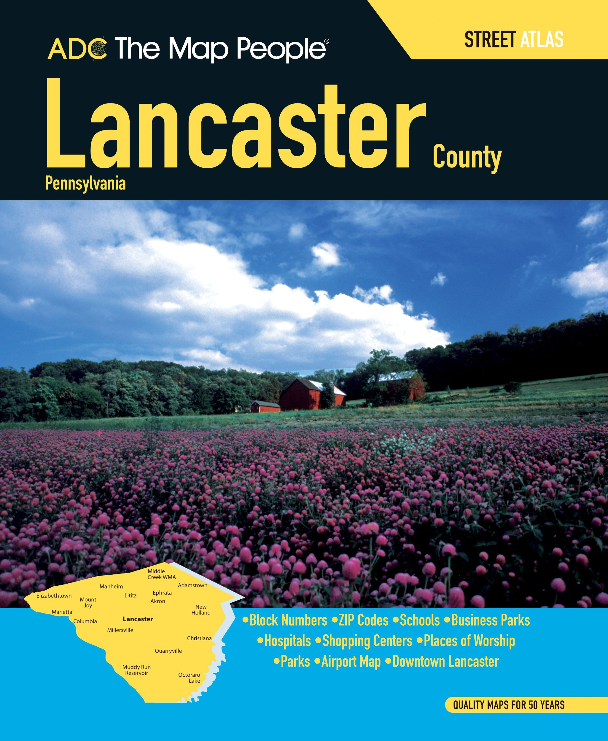 Lancaster County PA Street Atlas (Adc the Map People) pdf