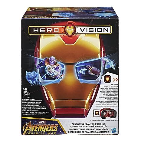 Avengers Marvel Infinity War Hero Vision Iron Man AR Experience
