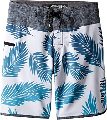 1a4eba1c82b9 Amazon.com  Rip Curl Kids Boy s Mirage Mason Rockies Boardshorts (Big Kids)  Light Blue 23  Clothing