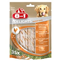 8 in 1 Delights Twisted Sticks Pollo - 190 gr