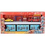 Dickie Toys 203314283 Jeu avec bus, taxi et tramway