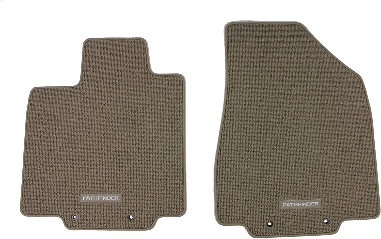 Black Genuine Nissan Accessories Custom Fit Carpeted Floor Mat