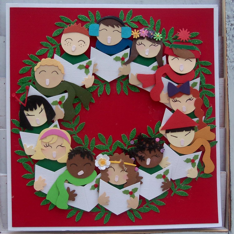 Caroler Choir Wreath